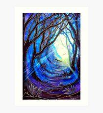 Through Darkness Comes Light Art Print