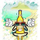 Beer in Beach - Ipanema by Felipe Navega