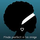 Perfect in his image (Navy) by Kamira Gayle