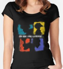 SEE YOU SPACE COWBOY Women's Fitted Scoop T-Shirt