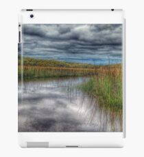 Clouds over Salt Marsh iPad Case/Skin