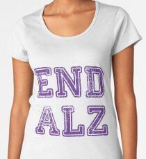 End ALZ Women's Premium T-Shirt
