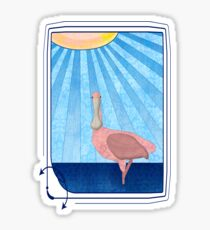 Roseate Spoonbill Sticker