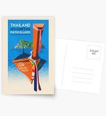 Reise-Plakat - Phi Phi-Insel Thailand Postkarten