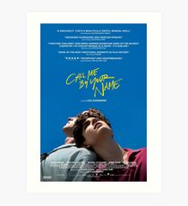 Call Me By Your Name Film Poster Art Print