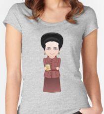 Kokeshi Simone de Beauvoir Women's Fitted Scoop T-Shirt