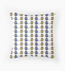 STPC: Naka Do & Oyo Yo with Origami Cranes (Never Forget) Throw Pillow