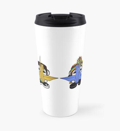 STPC: Naka Do & Oyo Yo with Origami Cranes (Never Forget) Travel Mug
