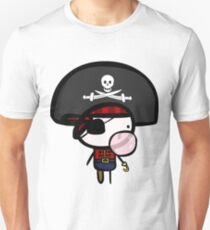 Yarrg, Pirates Can Blow Bubbles Too! Unisex T-Shirt