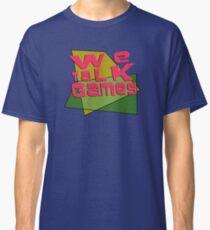 We Talk Games Angular Retro Classic T-Shirt