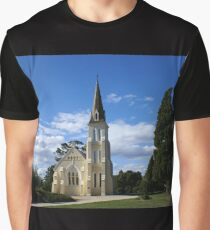 Evandale Church, Tasmania Graphic T-Shirt