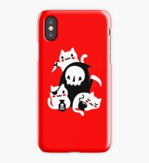 Deaths Little Helpers iPhone Case