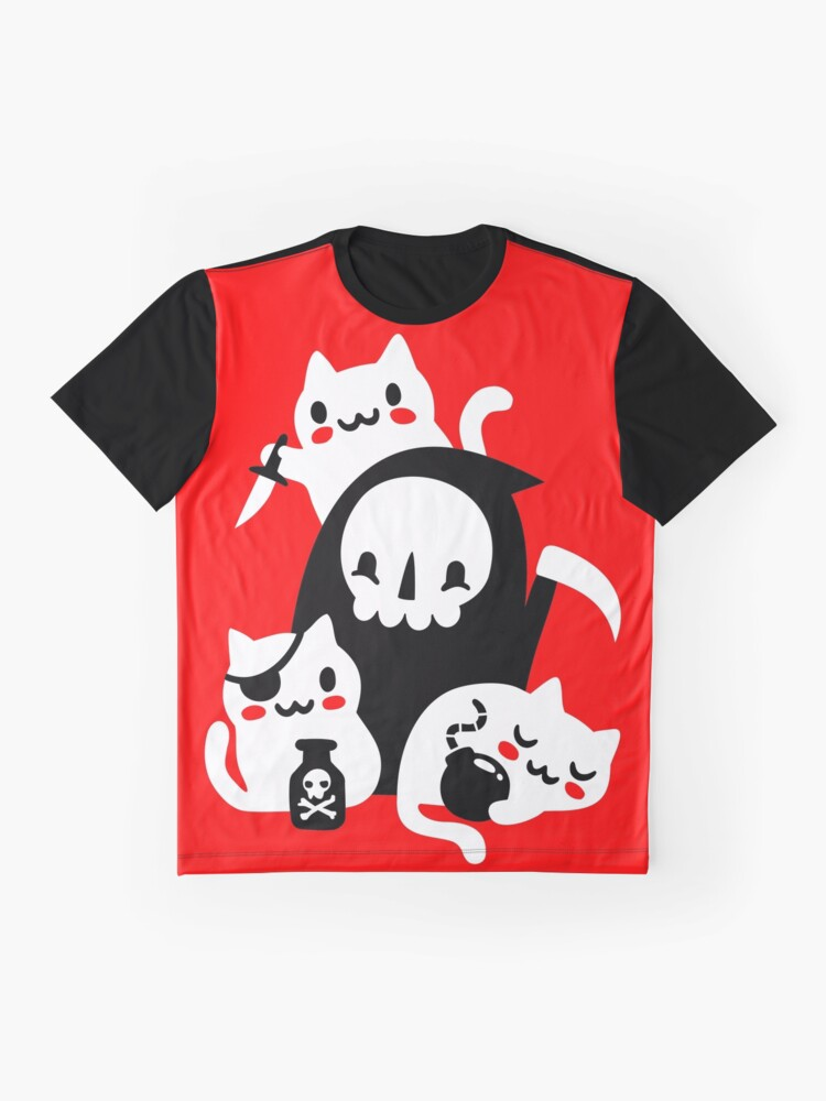 Alternate view of Deaths Little Helpers Graphic T-Shirt