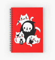Deaths Little Helpers Spiral Notebook