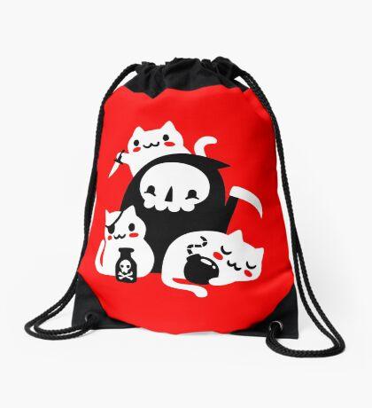 Deaths Little Helpers Drawstring Bag