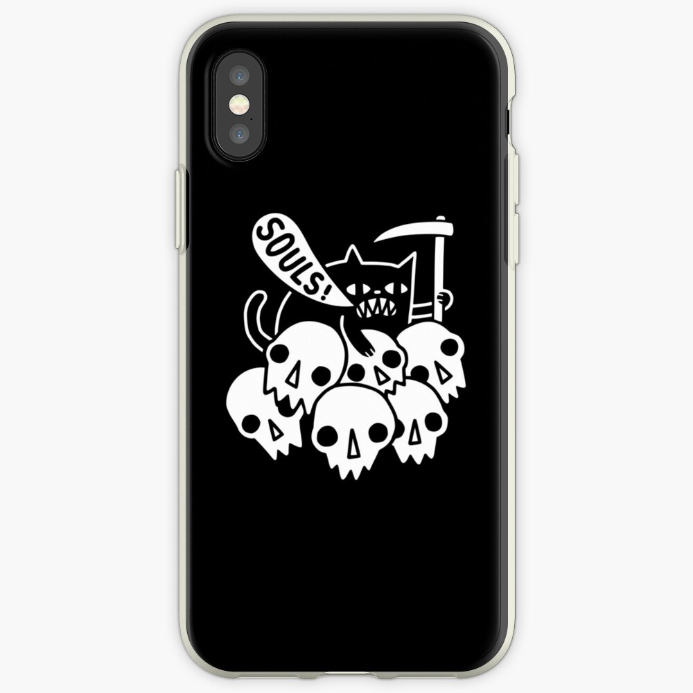 Cat Got Your Soul? iPhone Cases & Covers