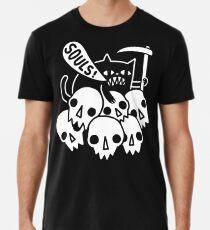Cat Got Your Soul? Men's Premium T-Shirt