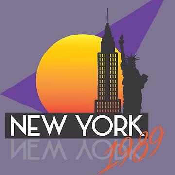 80s Travel New York by charliegdesign