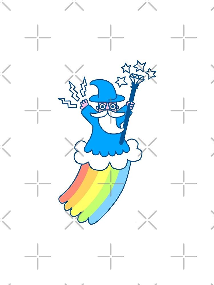 Rainbow Wizard by obinsun