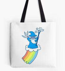 Regenbogen-Zauberer Tote Bag