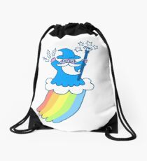 Regenbogen-Zauberer Turnbeutel