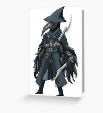 Pixelborne - Eileen The Crow Greeting Card