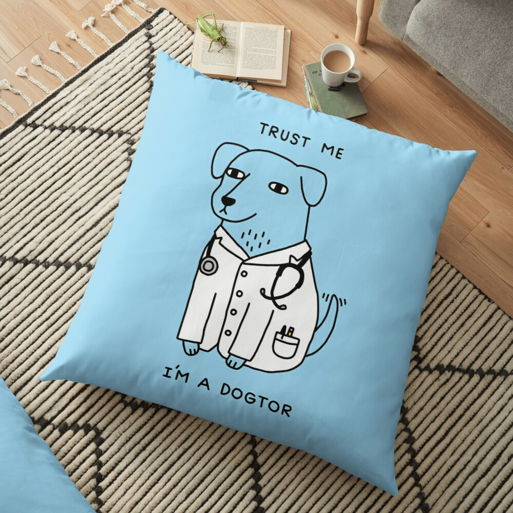 Dogtor Floor Pillow