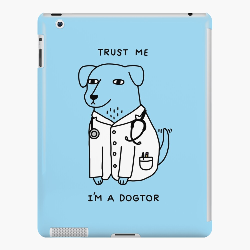 Dogtor iPad Case & Skin
