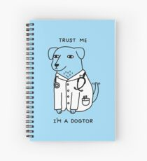 Dogtor Spiral Notebook