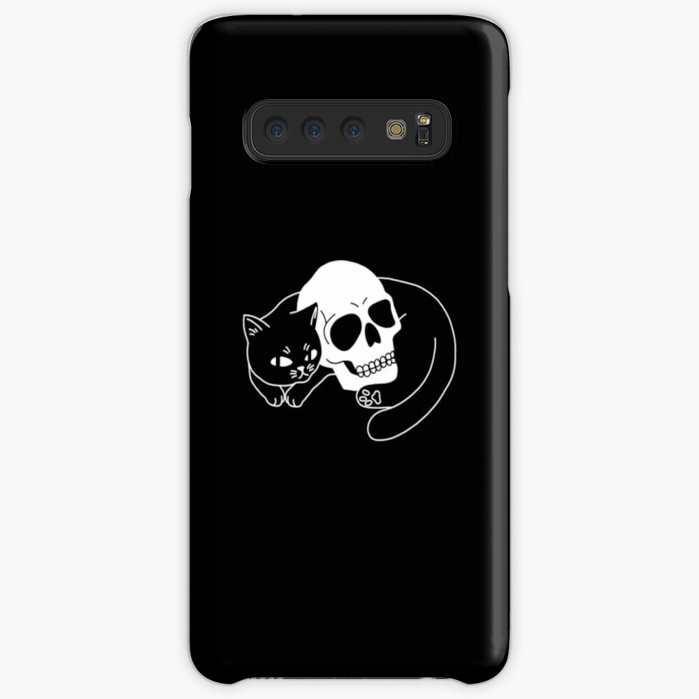 Spooky Cat Case & Skin for Samsung Galaxy