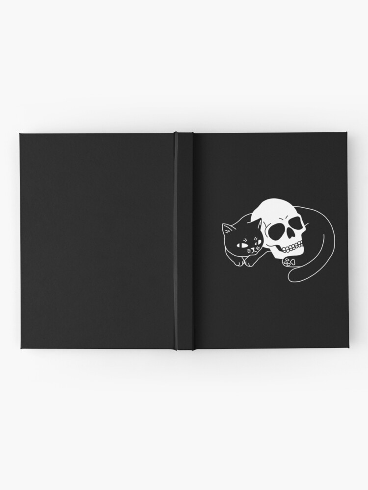 Alternate view of Spooky Cat Hardcover Journal