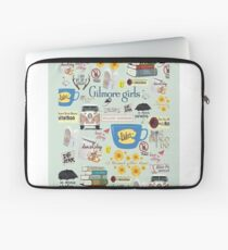 Gilmore Girls Collage, mint green Laptop Sleeve