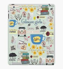 Gilmore Girls Collage, mint green iPad Case/Skin