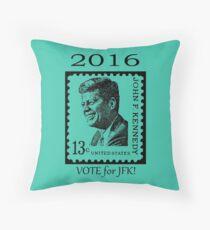 2016...VOTE for JFK!! Throw Pillow