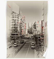 Shinjuku Streetscape Poster