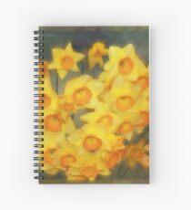 A Host of Golden Daffodils Spiral Notebook