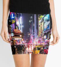 Minifalda Noche de la ciudad de Nueva York