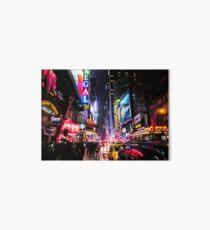 Lámina de exposición Noche de la ciudad de Nueva York