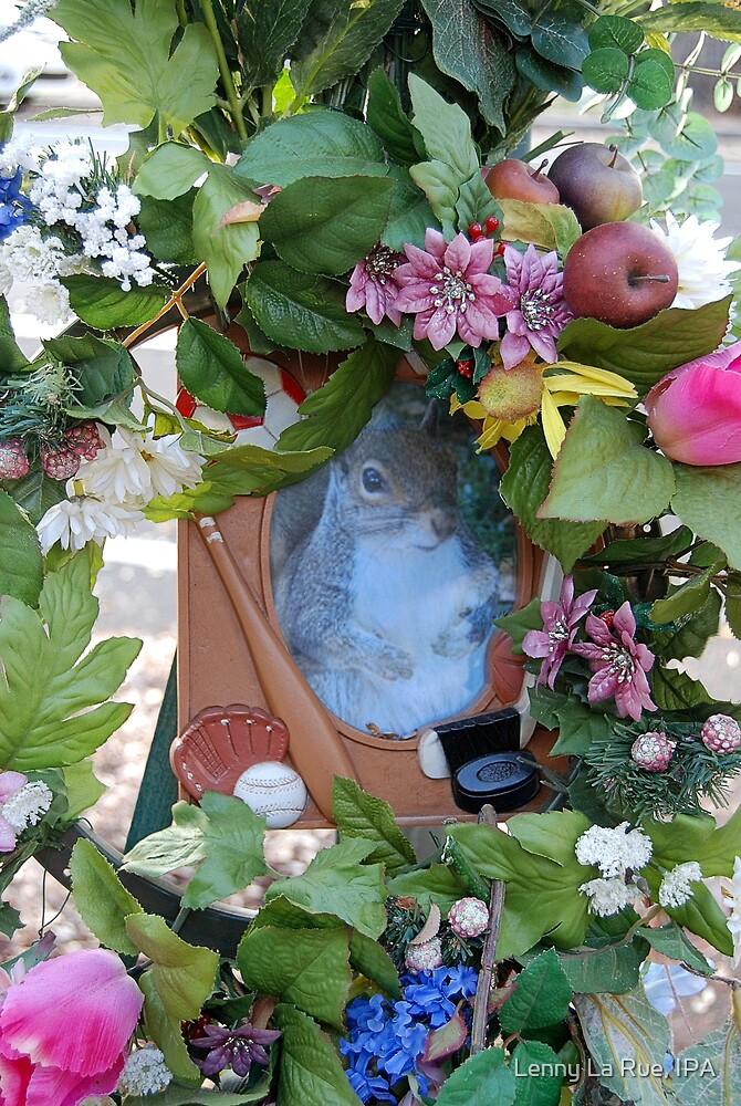 Squirrel shrine by Lenny La Rue, IPA