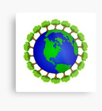 Ecology nature lover  Metal Print