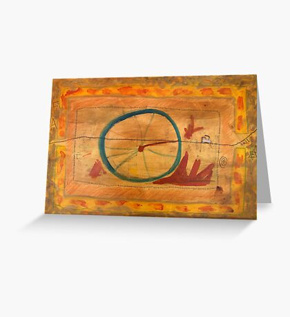 From The Wheel, Six Greeting Card