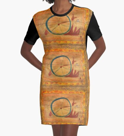 From The Wheel, Six Graphic T-Shirt Dress
