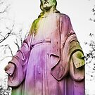 Rainbow Sherbert Jesus by stevenjayphoto
