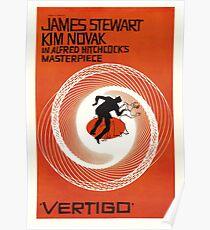 Vertigo - Alfred Hitchcock Poster