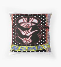 Manual Communication to Convey Meaning Throw Pillow