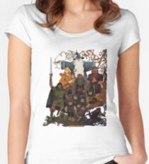 Fellowship of the Ring Women's Fitted Scoop T-Shirt