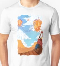 Road Beneath the Floating-Cities Unisex T-Shirt