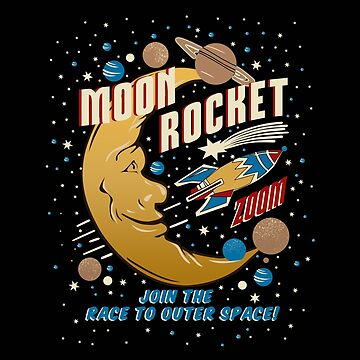 Moon Rocket Racer Vintage by doloresw