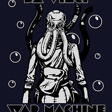 Da Vinci War Machine - Going Deep (The Diver) by TheHaloEquation