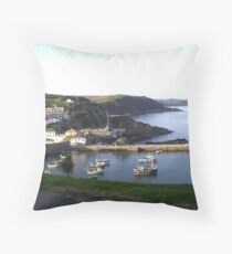 Spring in Cornwall Throw Pillow